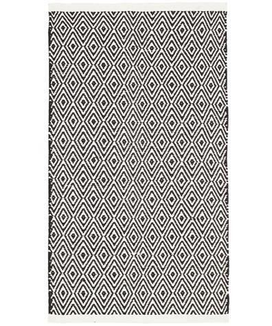 jazz gulvteppe 60x90 svart