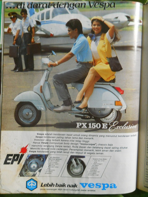 Indonesia - Vespa PX 150 Exclusive 80's