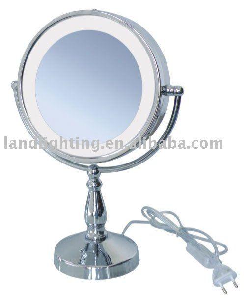 LED Magnifying Illuminated Mirror with shelf $20~$35
