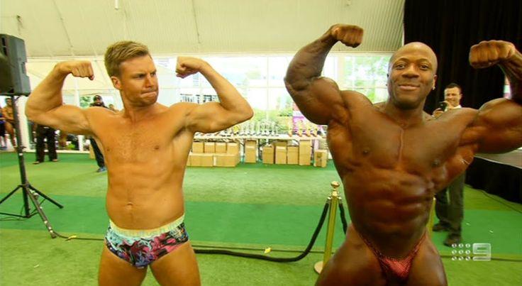 Beau Knows Bodybuilding (HD) - NRL Footy Show (March 20, 2014)
