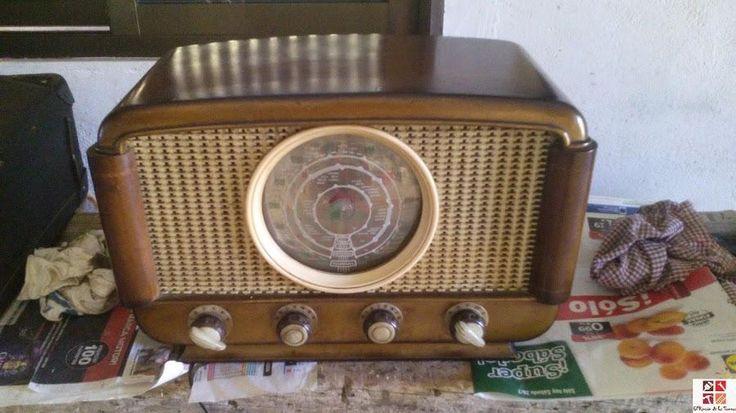 Restaurando una vieja radio