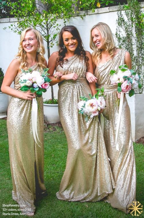 b8a46dddb3458 One Shoulder Sequin Popular Cheap Long Wedding Bridesmaid Dresses ...