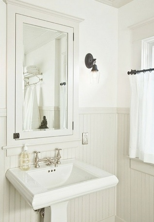 37 best Small & Narrow Bathroom images on Pinterest | Small narrow ...