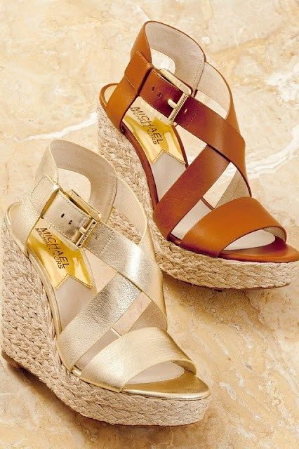 Michael Kors Spring, Summer Necessity  to have comfortable(   wedges) yet stylish 2013