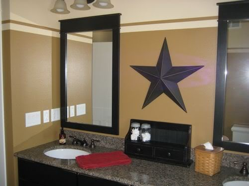 Black Cabinet W Tan Walls Home Ideas Pinterest