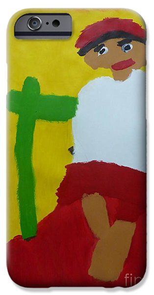 Patrick Francis IPhone 6s Case featuring the painting Italian Woman 2014 - After Vincent Van Gogh by Patrick Francis