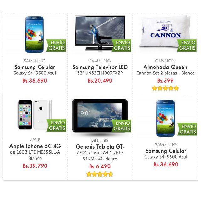 Continúa la promo Ahorra Bs.300 en tu primera compra, hay de todo. Mucho mejor que MercadoLibre.com