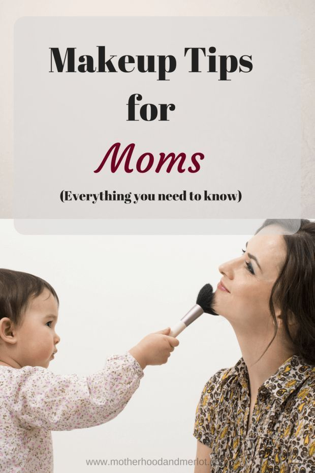 Tips and tricks for moms that want to do makeup, but don't know where to start. Check out these need to know ideas for makeup for moms.