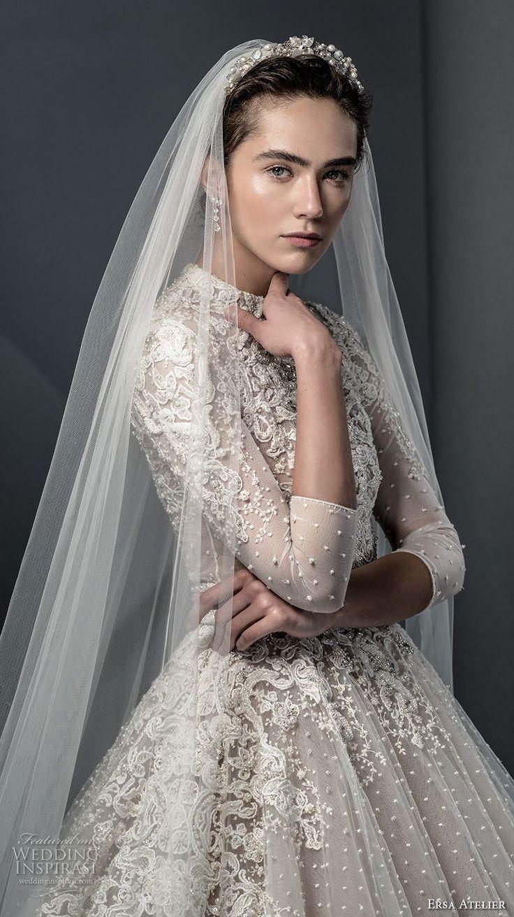 "Ersa Atelier Spring 2018 Wedding Dresses — ""Miss Mist"" Bridal Collection"