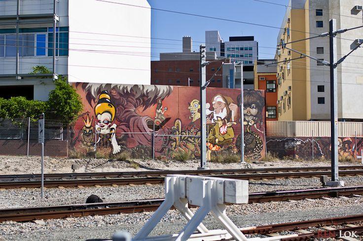 street art East Perth