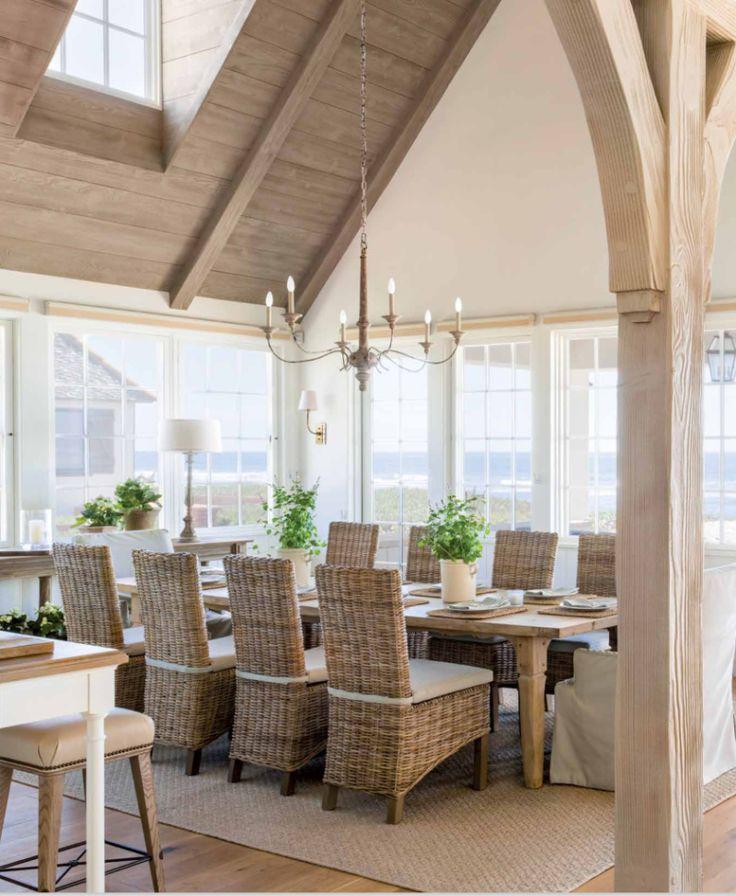 giannetti home french normandy style beach house - Beach House Interior Design Ideas