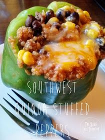 The Road Less Traveled: Southwestern Quinoa Stuffed Peppers