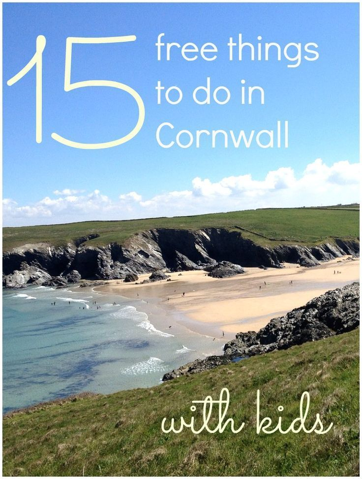 Cornwall is deservedly popular for family holidays in the UK - but it needn't cost a fortune with my top 15 free things to do in Cornwall with kids