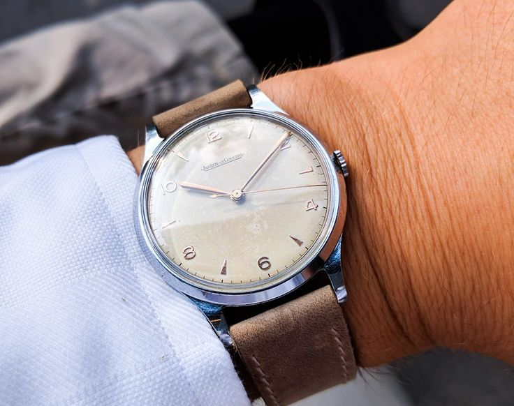 Wind up your Jaeger Lecoultre watch manually and wear it under your sleeves in the office