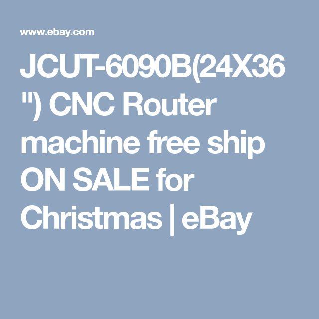 "JCUT-6090B(24X36"") CNC Router machine free ship ON SALE for Christmas | eBay"