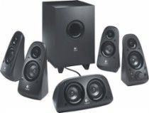 Logitech Z506 5.1 Surround Sound Speakers (6-Piece) Black 980-000430 - Best Buy