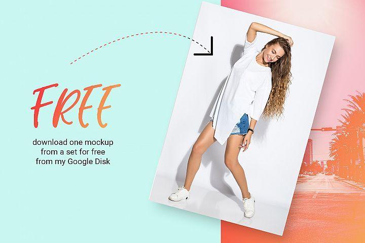 Download Female T Shirt Mockups Free Demo Poster Lobster Tools And Elements Mock Ups Shirt Mockup Clothing Mockup Tshirt Mockup