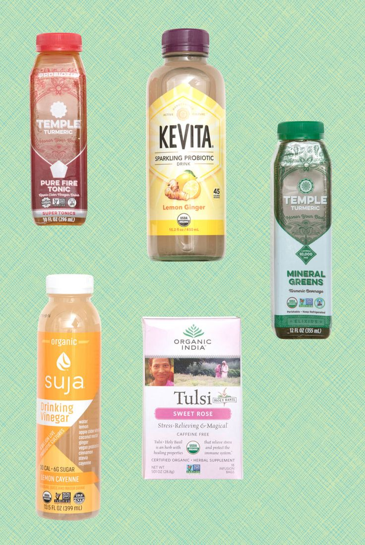 Wellness Tonics // Our 2017 Trends Forecast is Here: Find Out What You'll Be Eating (and Loving) Next Year // Tulsi Tea, Kombucha, Kevita, Probiotics, Superfoods // Whole Foods Market