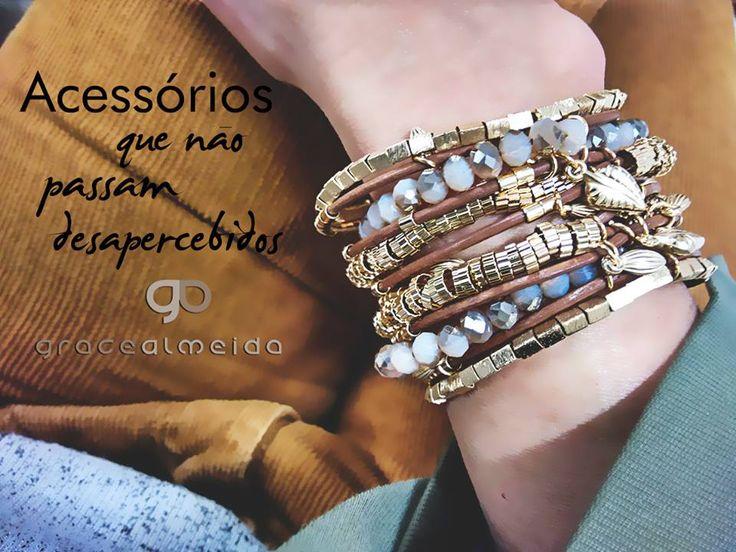 Handmade sofisticado.... Estilo Grace Almeida Bijóias!! Mais acessórios na loja virtual: www.lojagracealmeida.com.br