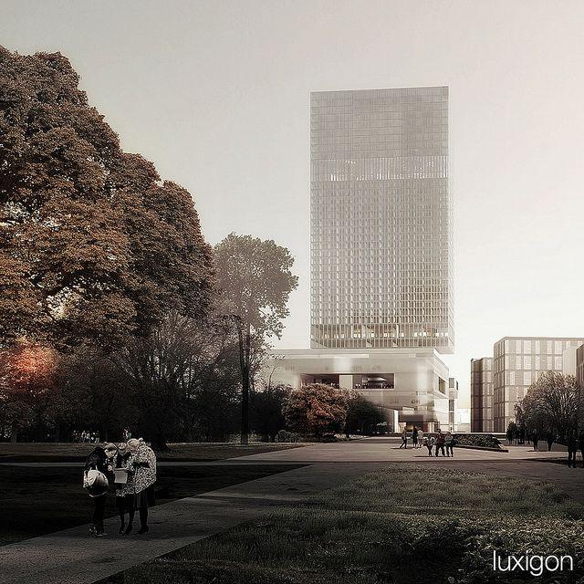 OMA - Futur Palais de Justice - Paris