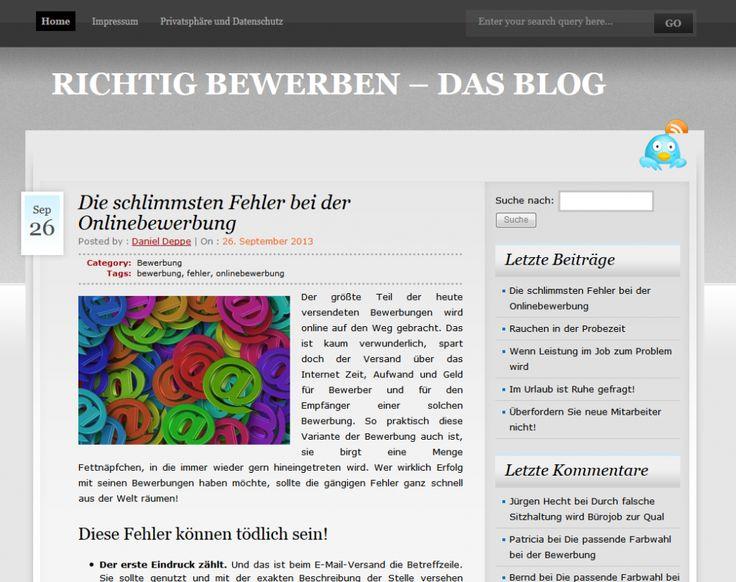 Warum sieht hier alles anders aus? #Responsive #Design! http://richtig-bewerben.deppe-solutions.de/?p=164