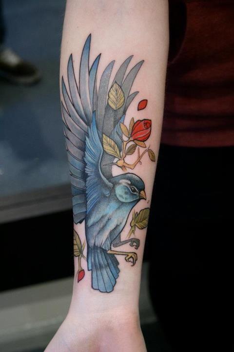 Mitch Allenden – Tattoos 2012: Bird Tattoos, Tattoo Ideas, Tattoo Inspiration, Body Art, Tattoo'S, Birds, Ink