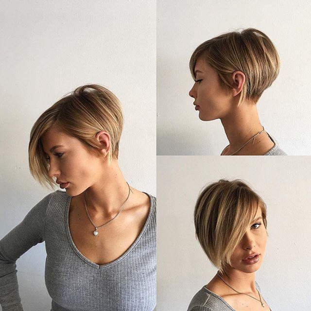 Short hair w/ @adrianna.christina || texture|| chic|| modern|| hair by @domdomhair|| @behindthechair_com #behindthechair || @modernsalon #modernsalon || @american_salon #americansalon || #hair