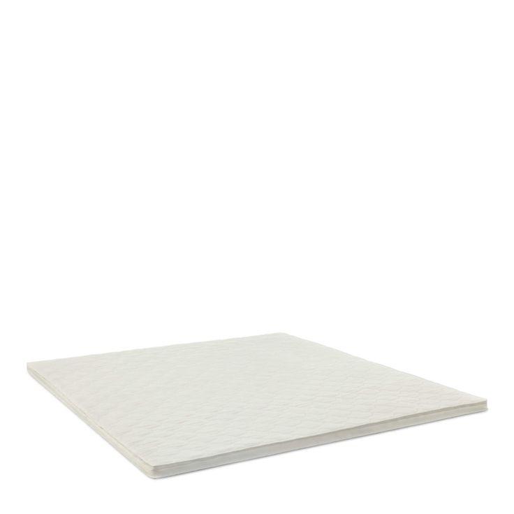 Newline Matratzen-Topper Belluno 180 x 200 cm Weiß Stoff
