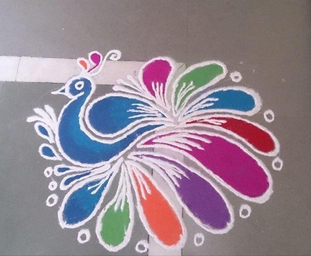 64 best Alpana images on Pinterest | Rangoli designs, Mandalas and ...