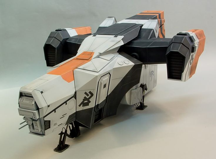 District 9 Dropship Scratch build :o   Tabletop Misc ...