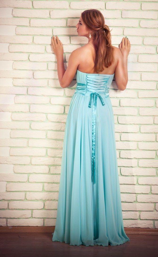 Вечернее платье купить | Вечерние платья мятного цвета