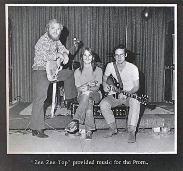 Группа ZZ Top на втором году своего существования. Техас. США. 1970г.