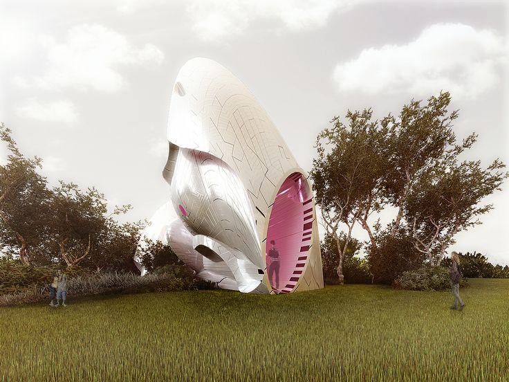 hábitat - ejercicio plástico - diseño y visualización Arq.  D H