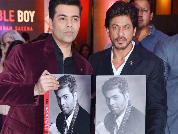 SRK unveils best friend Karan Johar's Biography 'An Unsuitable Boy', and gives a heartfelt speech…