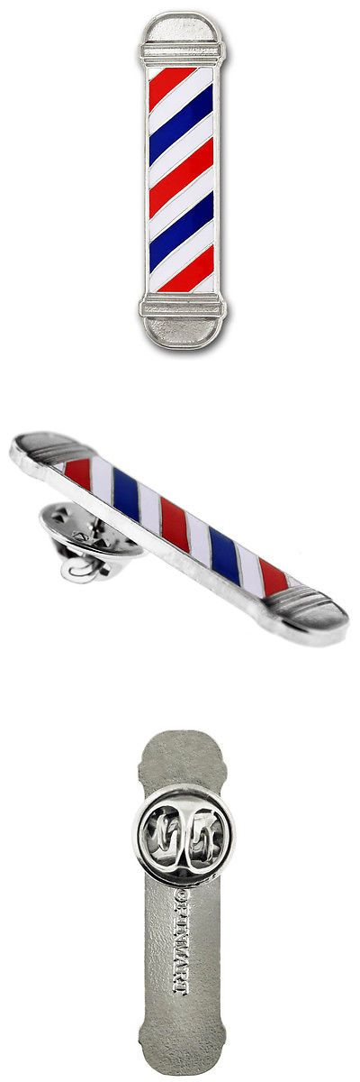 Pins and Brooches 50677: Pinmart S Barber Shop Pole Enamel Lapel Pin -> BUY IT NOW ONLY: $191.48 on eBay!