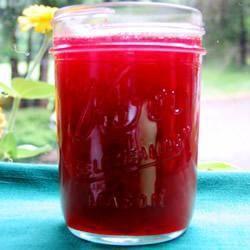 Orange rhubarb jam