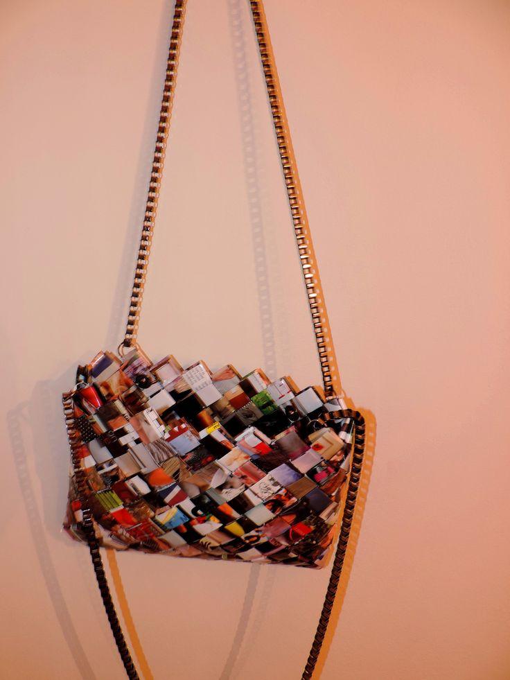 wrapper magazine purse  bag #filotheychihiro