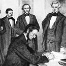 On January 1, 1863, President Abraham Lincoln signed the Emancipation Proclamation. Contrary to popular belief, the act itself did not abolish slavery. Want to see more? Visit www.HisDreamOurStories.com, a dedication to civil rights through first-hand accountsOn January 1, 1863, President Abraham Lincoln signed the Emancipation Proclamation. Contrary to popular belief, the act itself did not abolish slavery. Want to see more? Visit www.HisDreamOurStories.com, a dedication to civil rights…