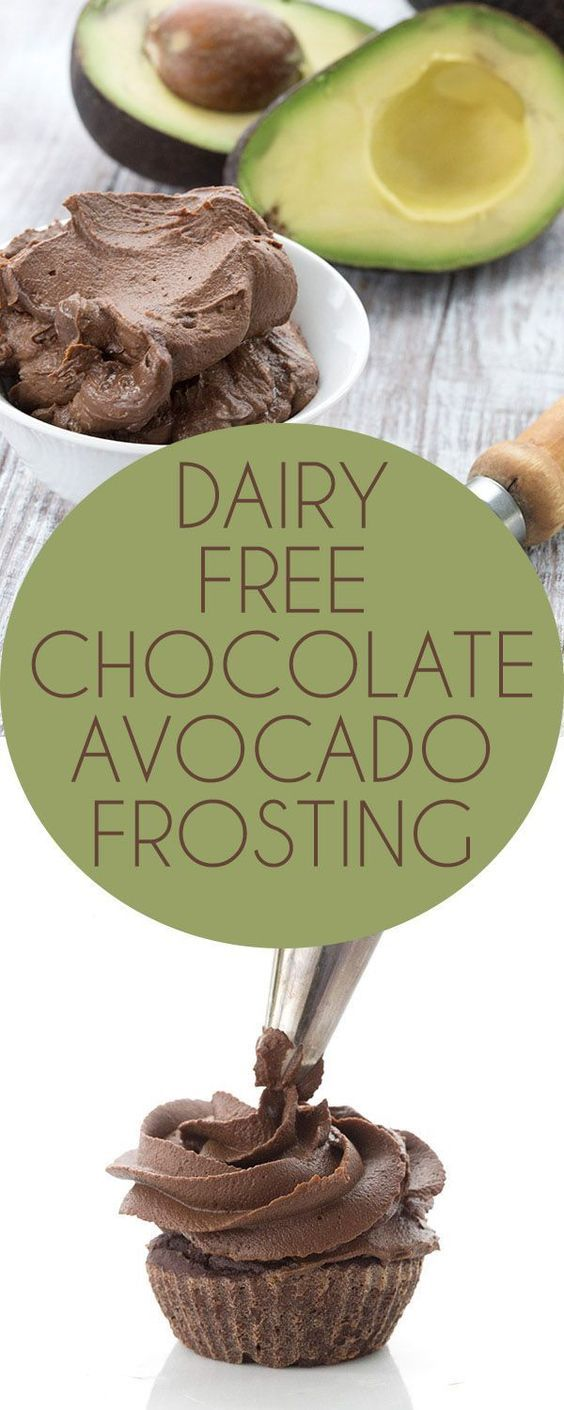 This dairy-free sugar-free frosting is so rich and creamy, you won't believe it's made with avocado! Low Carb Keto Banting THM Recipe.  via /dreamaboutfood/