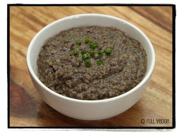 Trempette aux haricots noirs | Full vedge - Recettes végétariennes et gourmandes!