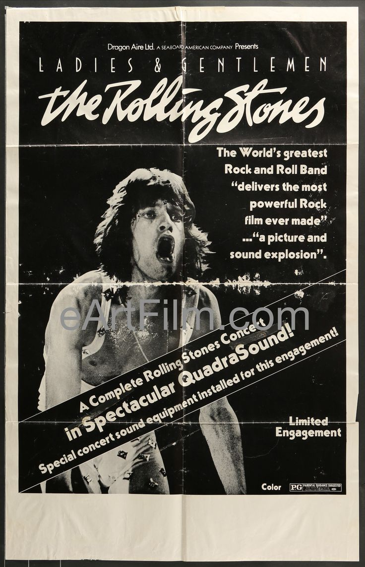 As with people, the effects of time give our posters more character: Ladies & Gentleme... Have a look! http://eartfilm.com/products/ladies-gentlemen-the-rolling-stones-1972-north-american-tour-24x38?utm_campaign=social_autopilot&utm_source=pin&utm_medium=pin
