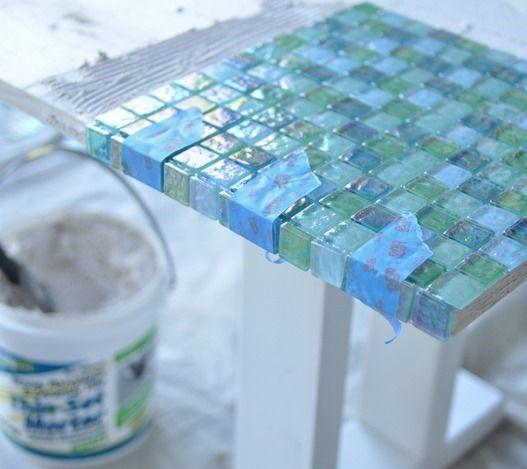 Broken Tile Coffee Table: Best 25+ Mosaic Tile Table Ideas On Pinterest