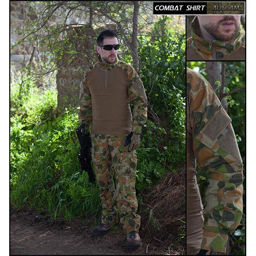 Divisa militare per completare l'equipaggiamento softair   Combat Shirt Auscam The Tower Company ®