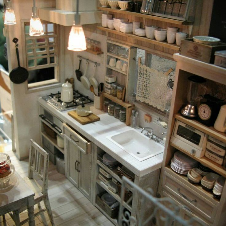 Miniature Kitchen: 287 Best Nunu's House Of Miniatures Images On Pinterest