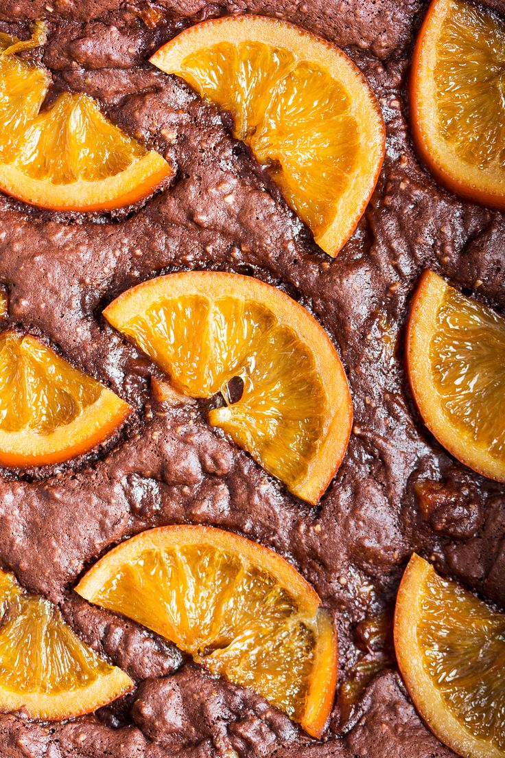These gooey chocolate orange brownies are delicious and easy to make despite being vegan and gluten-free too! They also make a great Valentine's Day treat!