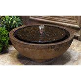 Found it at Wayfair - Garden Terrace Cirrus Cast Stone Fountain