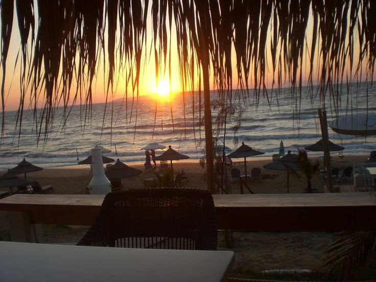 Dramatic Sunset...at Agios Stefanos beach... #Corfu..