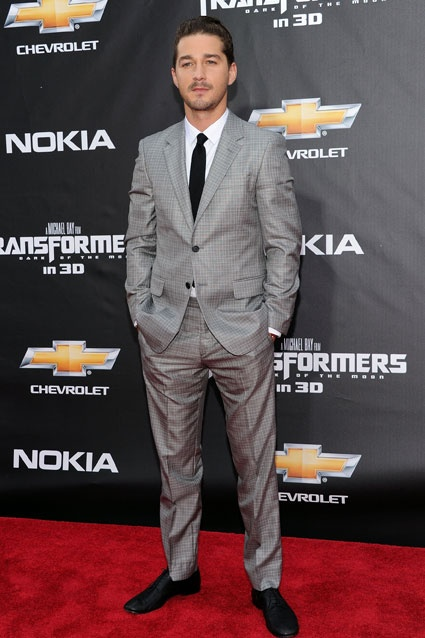 Shia LaBeouf    Turned 26, June 11. The Transformers actor's middle name, Saide, is his mother's maiden name.