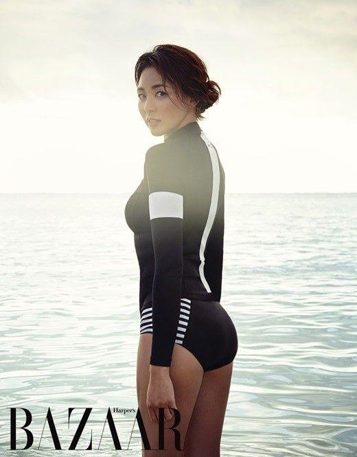 秋山成勲(韓国名:チュ・ソンフン)の妻でモデルのSHIHOが上品なセクシーさを見せた。ラッシュガードブランド「STL」とファッションマガジン「Harper's BAZAAR」が共にした2016年ラッ… - 韓流・韓国芸能ニュースはKstyle