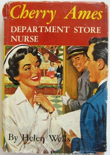 Cherry Ames #18  Department Store Nurse HBDJ Helen Wells Vintage Girls Book